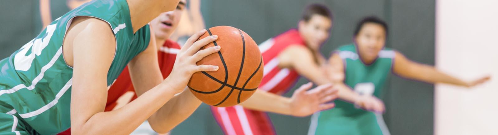 Basketball post image
